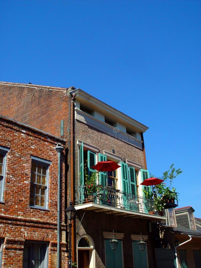 Download Loft stock photo. Image of umbrella, porch, louisiana, orleans - 70196