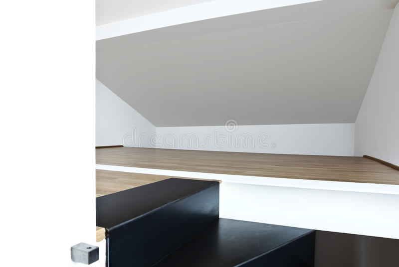 Download Loft duplex, stairs stock image. Image of space, beautiful - 19243063