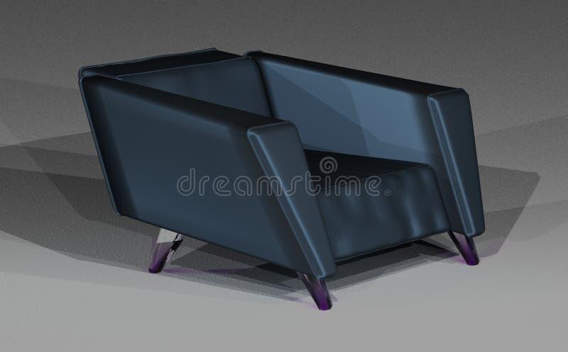 Loft krzesło w atłasie zdjęcie royalty free
