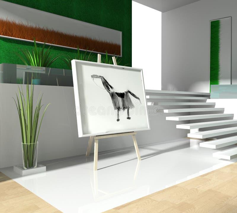 loft nowożytny ilustracji