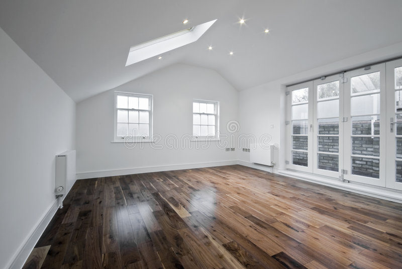 Loft Room With Roof Window Royalty Free Stock Photography