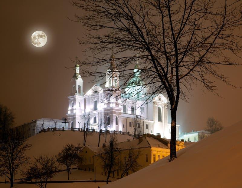 Lofwaardig-Uspensky kerk, Vitebsk stock fotografie