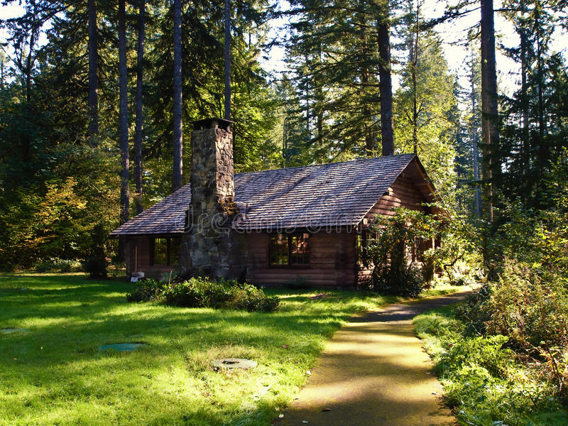 Download Log Cabin stock photo. Image of house, vacation, wood - 16616506