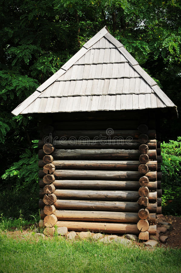 Download Log cabin stock image. Image of rustic, annex, forest - 20133111