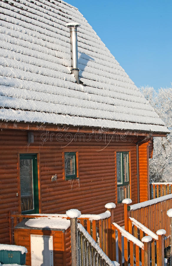Download Log cabin stock image. Image of cabin, snowcapped, cold - 21888343