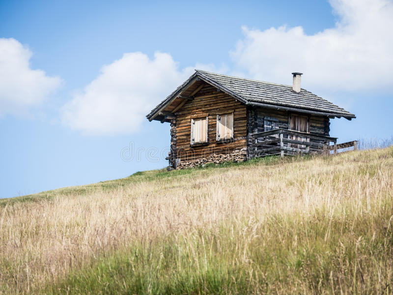 Download Log cabin stock image. Image of grass, object, nature - 28376417