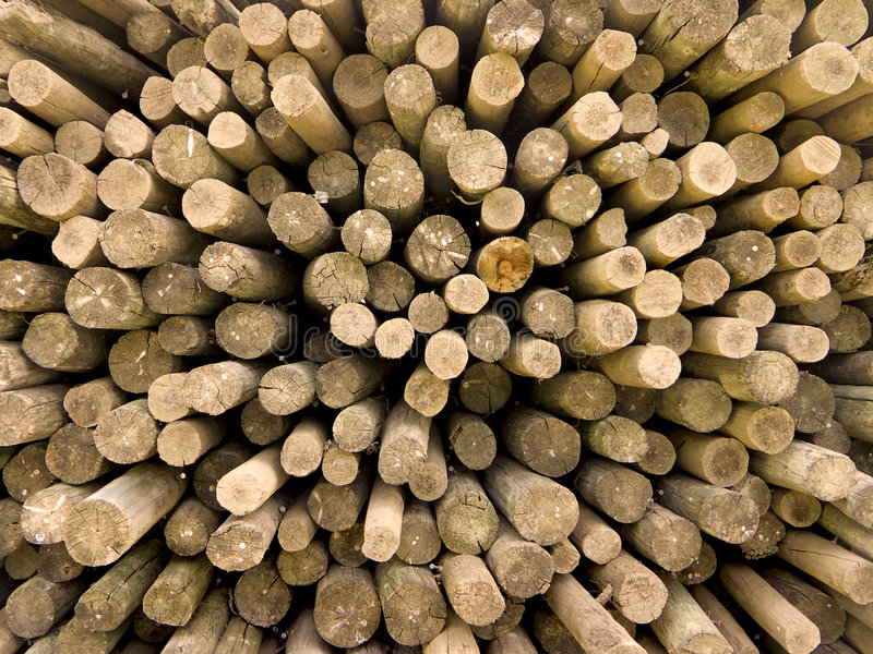 Log Ends Royalty Free Stock Images