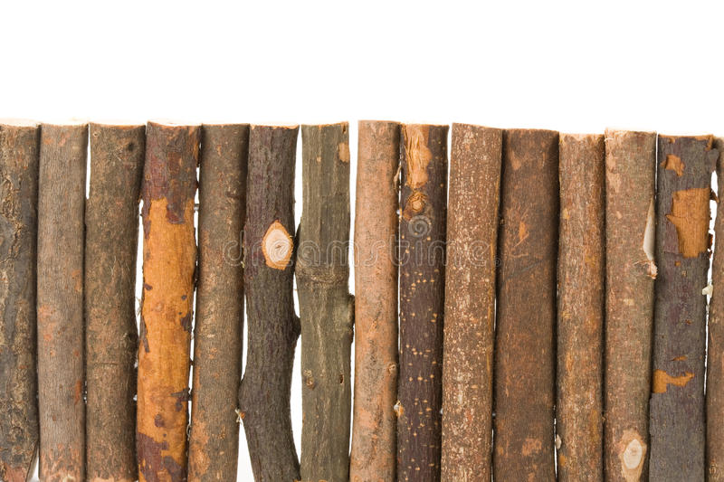 Download Log fence stock image. Image of plant, stick, rough, white - 11490989
