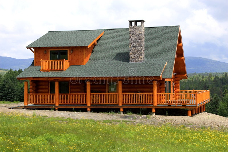 Log Home Royalty Free Stock Images