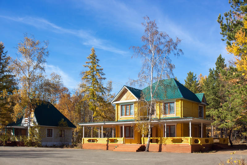 Download Log Home stock image. Image of rural, roofs, beauty, building - 27032625