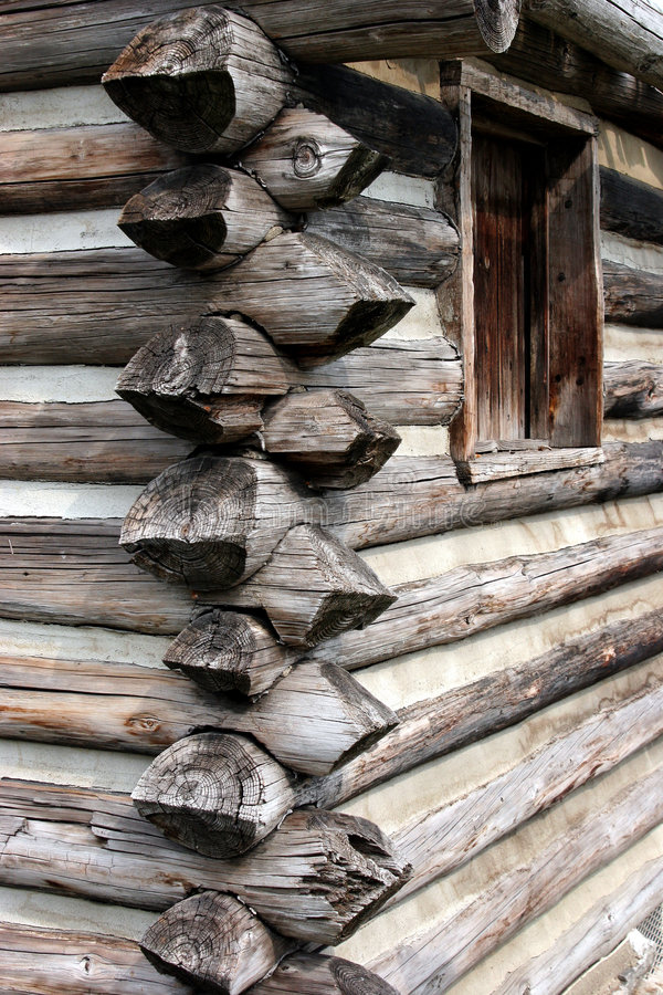 Free Log Home Construction Stock Photos - 2807823