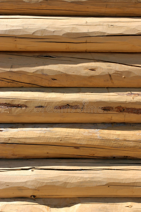 Download Log home wall detail stock photo. Image of round, natural - 179840