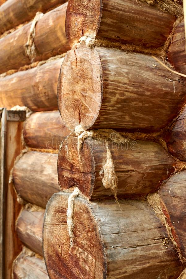 Log log house stock photos