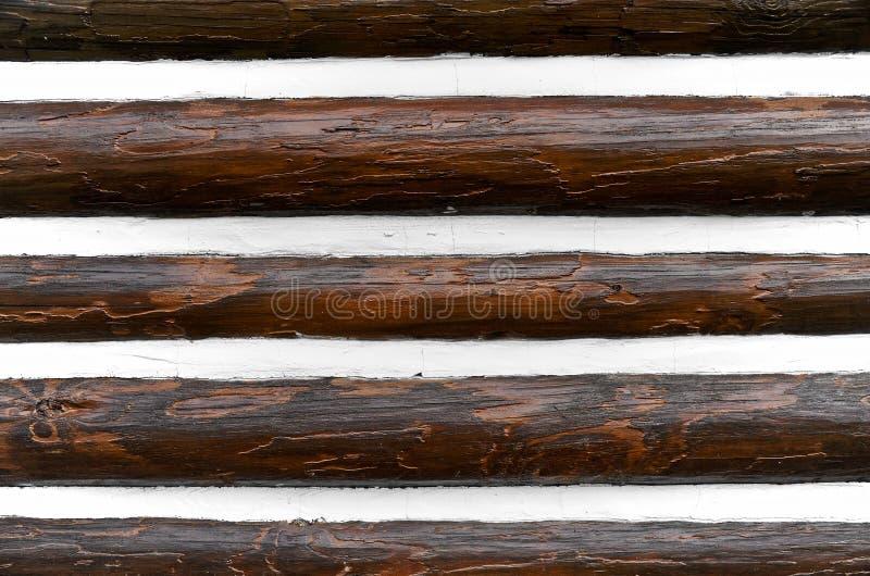 Log Wall stock photography