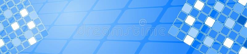 loga błękitny kwadrat royalty ilustracja