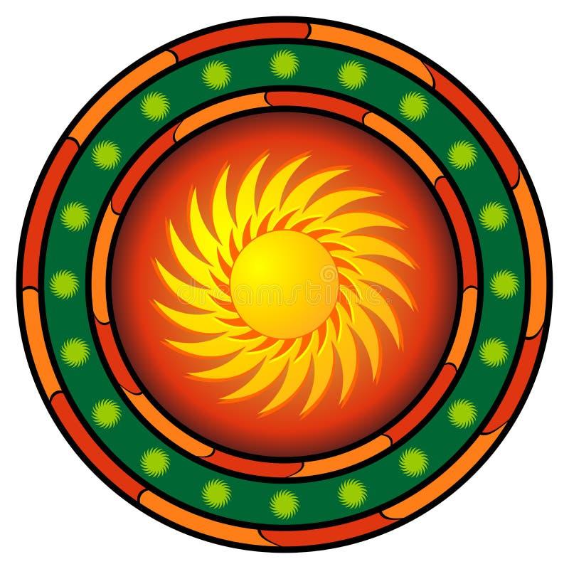 loga meksykanin ilustracji