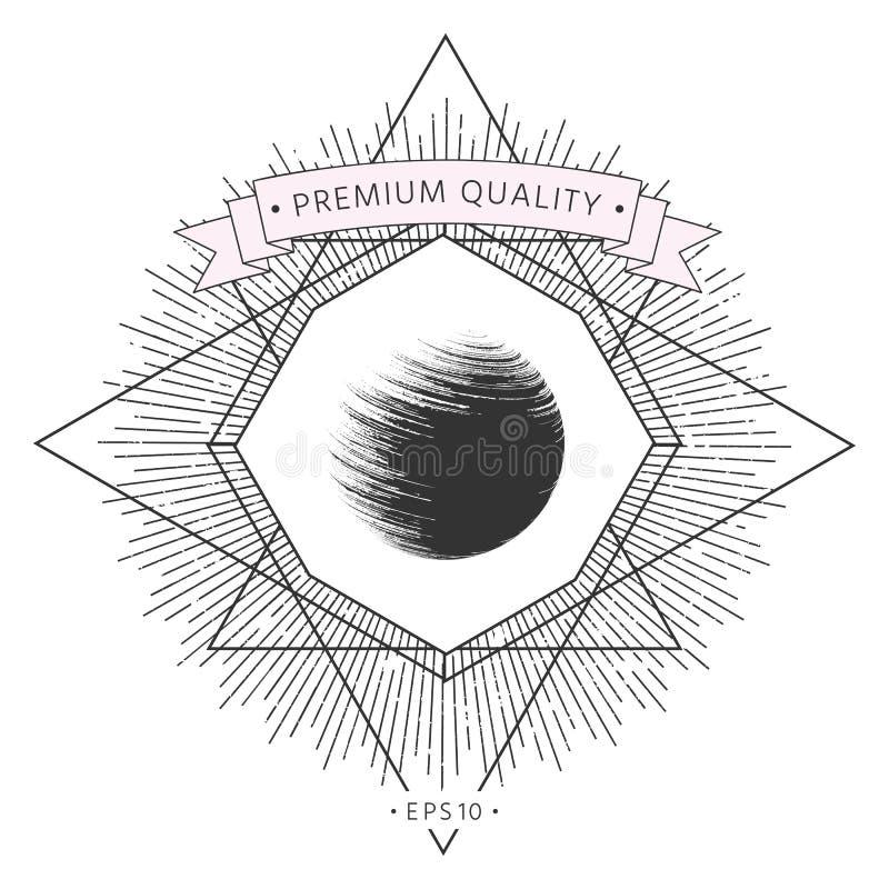 Loga Ziemski symbol ilustracji