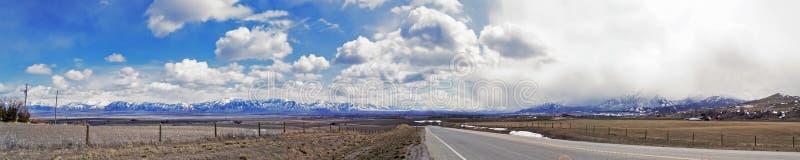 Logan, панорама UT стоковые фотографии rf