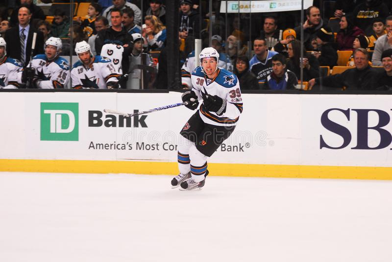 Logan Couture San Jose Sharks arkivfoto