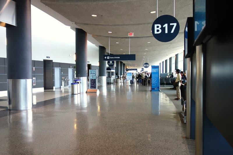 Logan internationell flygplats royaltyfria bilder