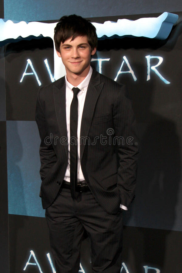 Logan Lerman fotos de stock