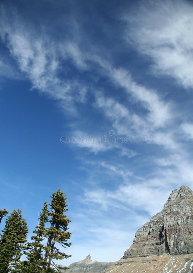 Download Logan pass,clouds stock image. Image of crag, peak, weather - 1424411