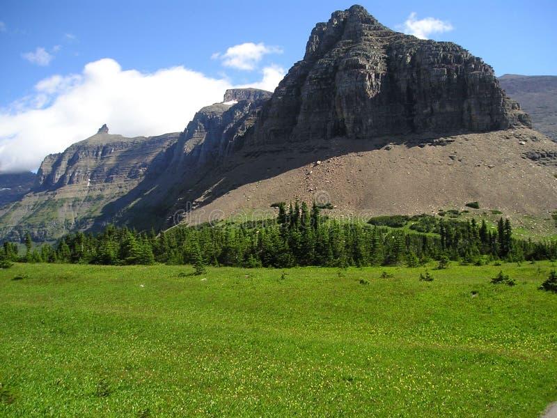 Logan Pass met Bishop& x27; s GLB stock afbeelding