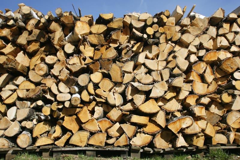 Download Logarithmes naturels photo stock. Image du firewood, lumber - 8664156