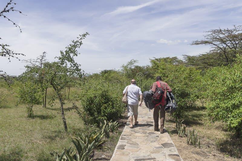 Loge au Kenya photo libre de droits