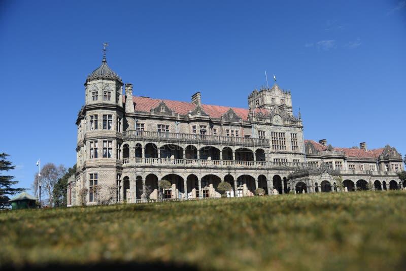 Loge vice-royale, Shimla, Inde photographie stock libre de droits