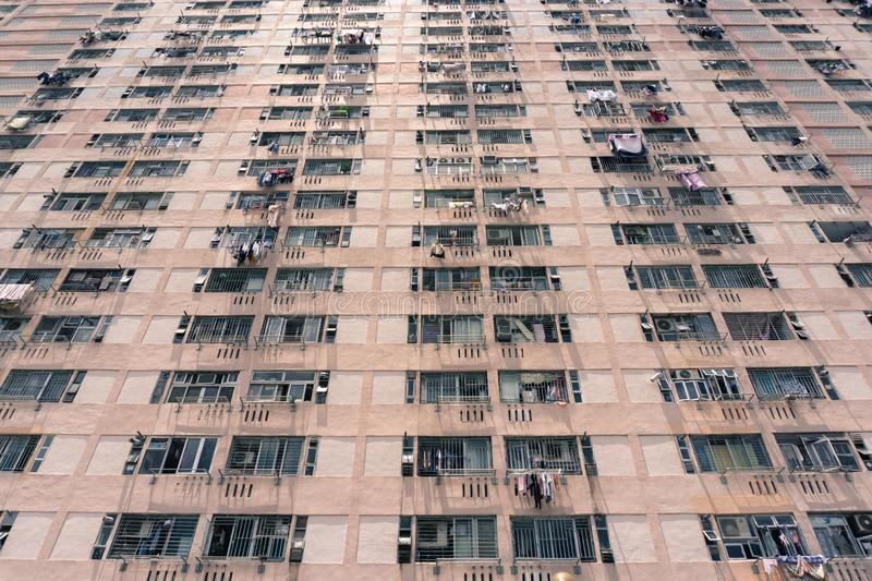 Logement ? caract?re social en Hong Kong photographie stock libre de droits