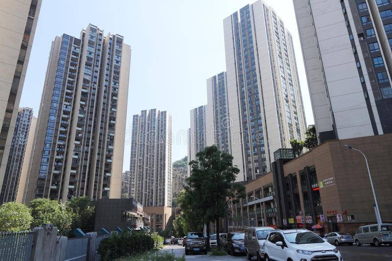 Download Logement chinois image éditorial. Image du centrale, condominium - 76080630