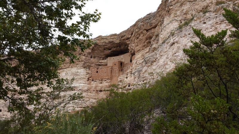 Logement de caverne en Arizona image libre de droits