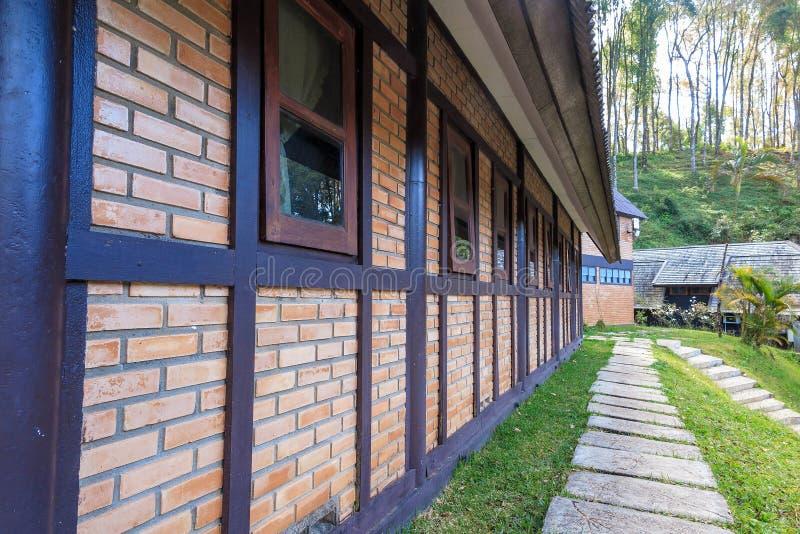 Logement, maison, station de vacances chez Ang Khang, Chiang Mai photos stock