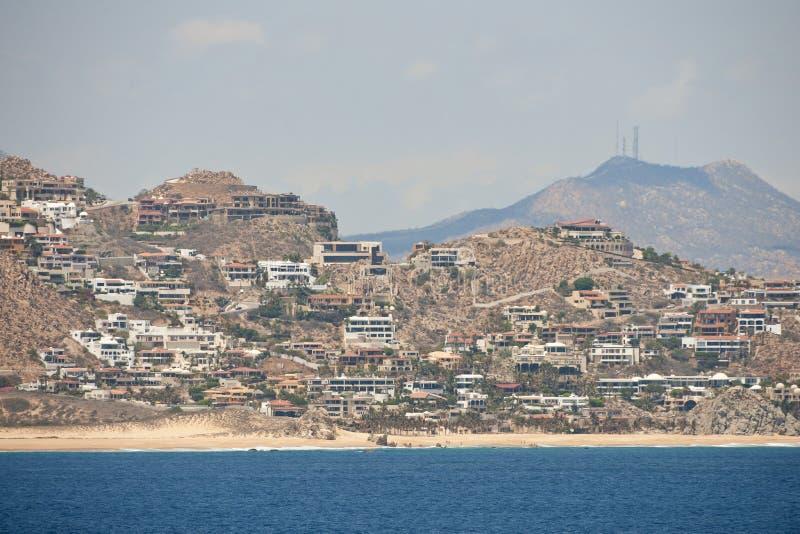 Logements de ressource de Cabo San Lucas photo stock