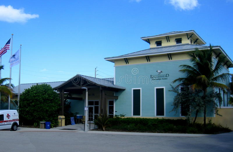 Loggerhead Marinelife Center. The loggerhead Marinelife Center is a non-profit organization in Juno Beach, Florida and features aquariums, exhibits and an on stock photography