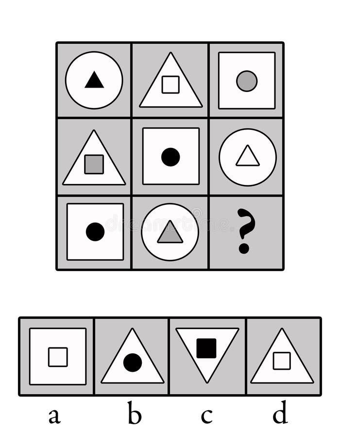Logics ilustração stock