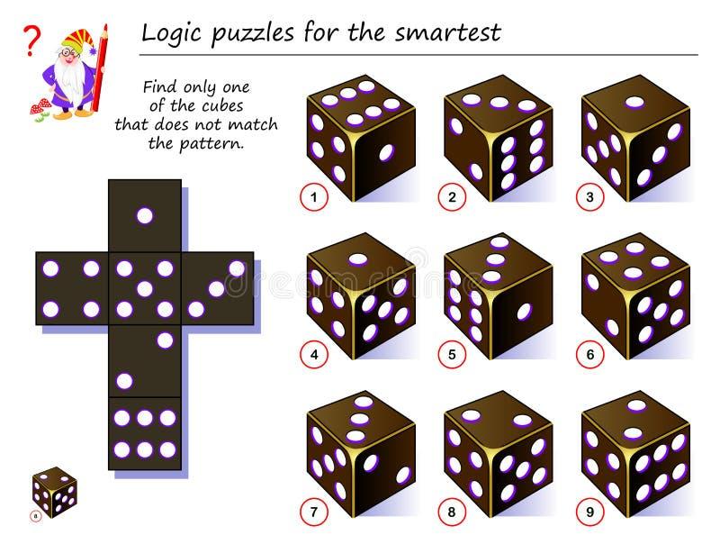 Logikr?tselspiel f?r kleine Kinder Müssen Sie die zweiten Paare jedes Pantoffels finden und ihnen sich anschließen, indem Sie Lin stock abbildung