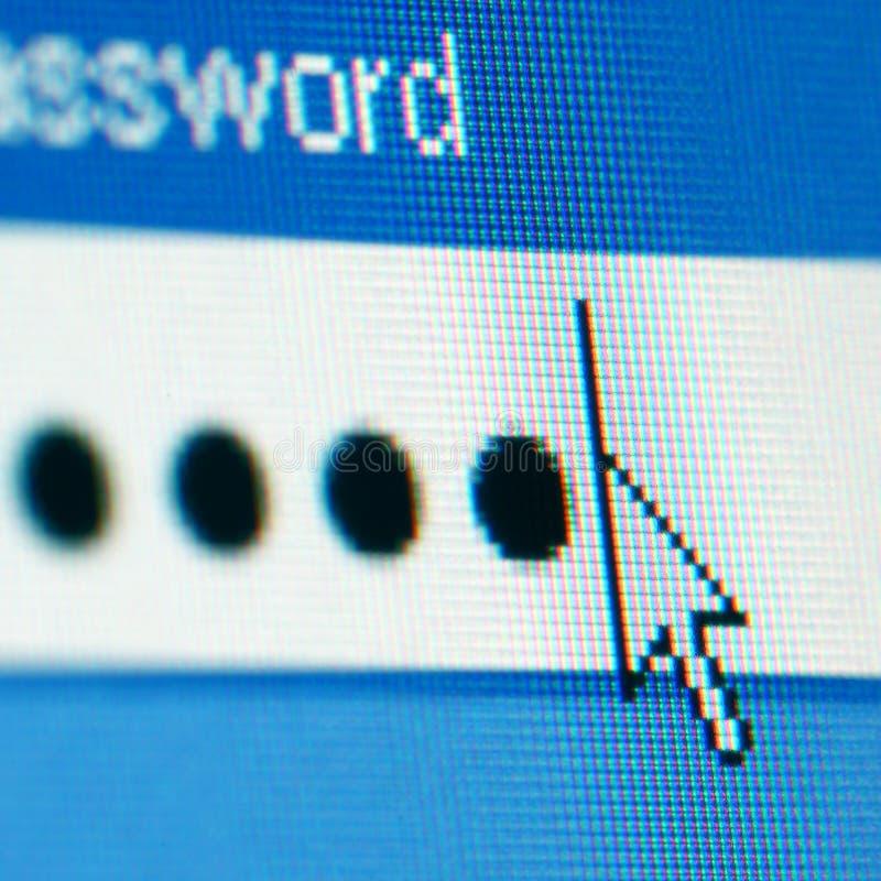 Login password stock photography