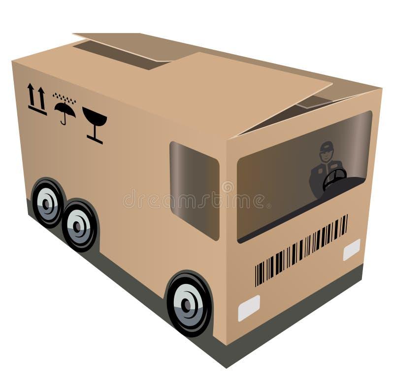 logistic ilustração stock