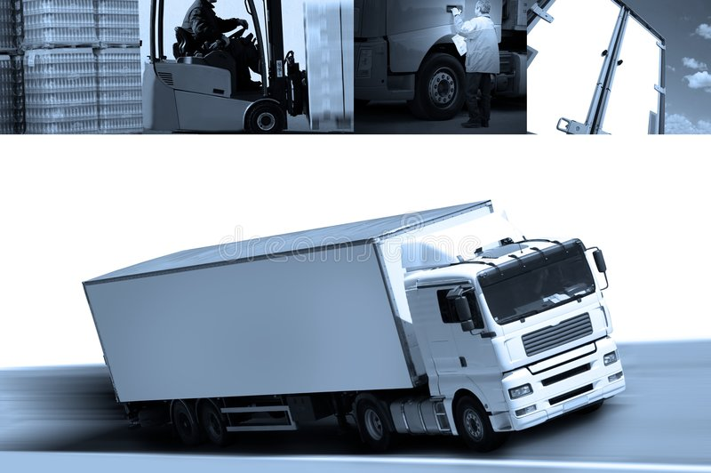 Logistic royalty free stock photo