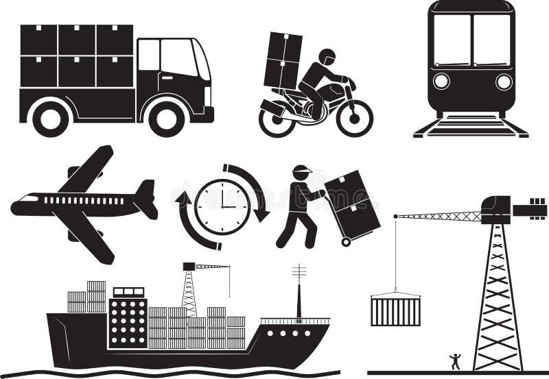 logistic ilustração do vetor