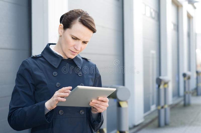 Download Logistic manager stock image. Image of network, distribution - 24235873
