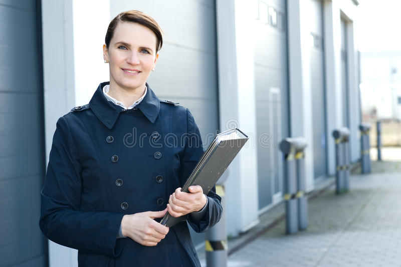 Download Logistic manager stock image. Image of cheerful, industry - 24333429
