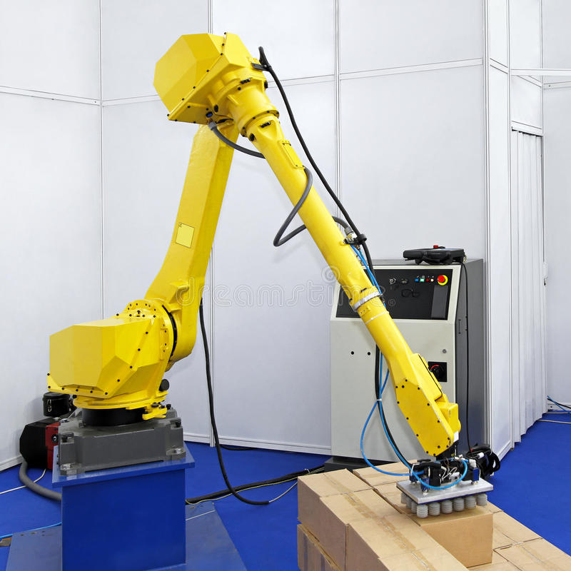 Download Logistic robot stock photo. Image of techology, production - 21267934