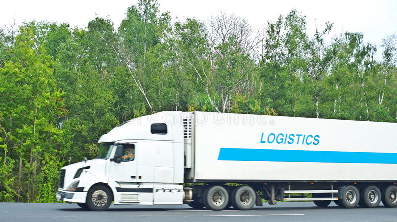 Logistica fotografia stock