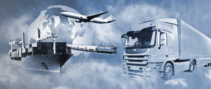 Logistica dei trasporti immagine stock libera da diritti