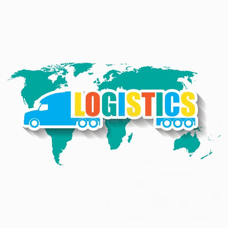 logistica del trasporto royalty illustrazione gratis