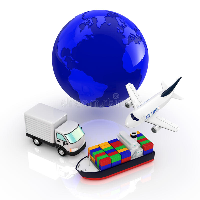 Logistics vector illustration