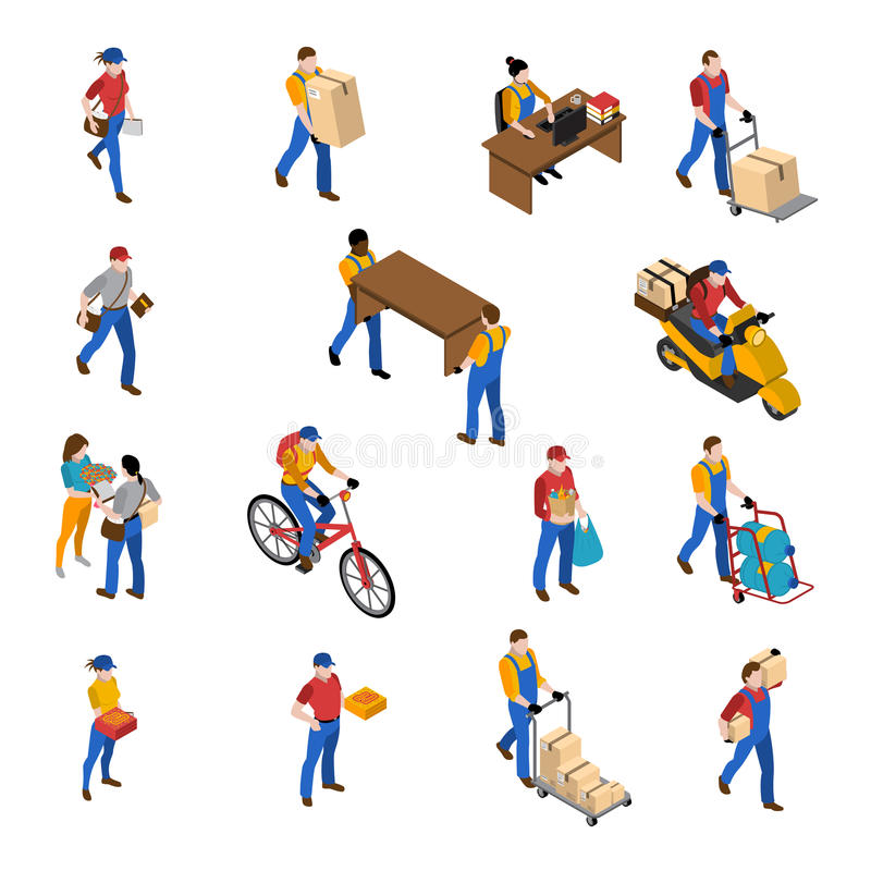 Logistics And Delivery Icons Set vector illustration